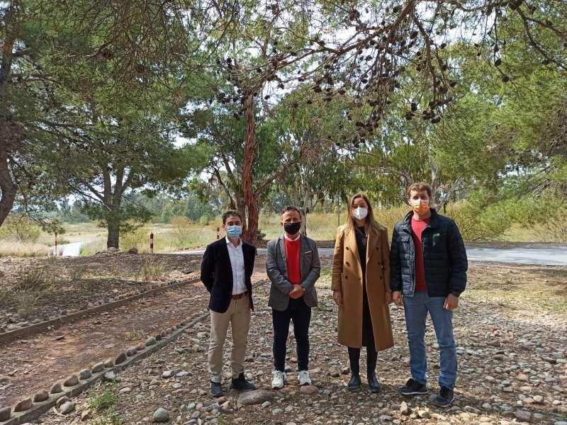 También han visitado la desembocadura del río Palància. / EPDA