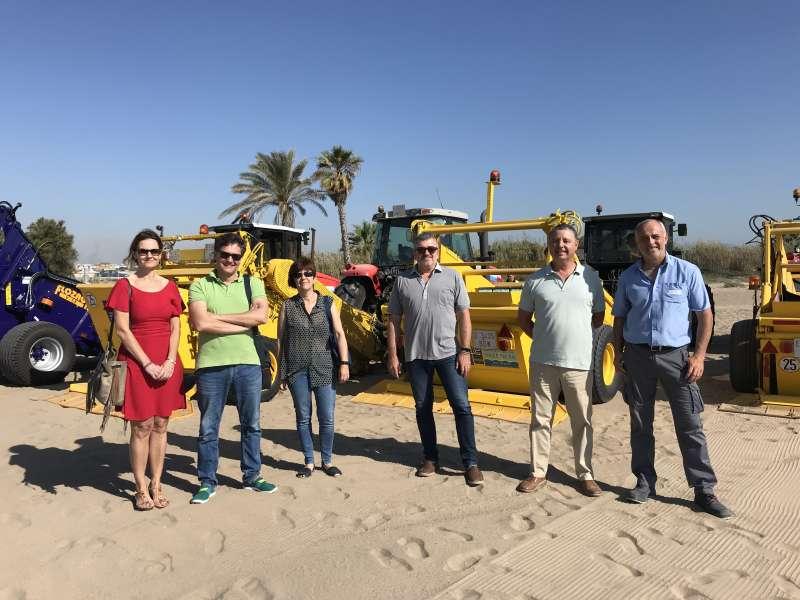 Presentació de neteja de platges aquest dimecres a Meliana.