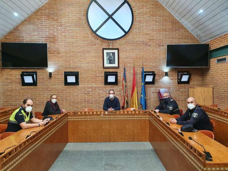 Policía local de Aldaia
