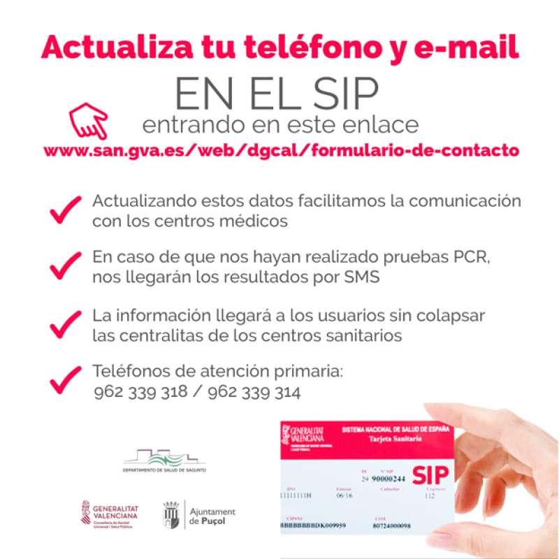 Actualiza el SIP. EPDA.