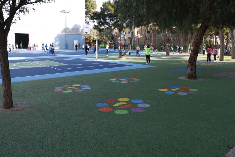 Mejora en uno de los centros educativos de Quart de Poblet. EPDA