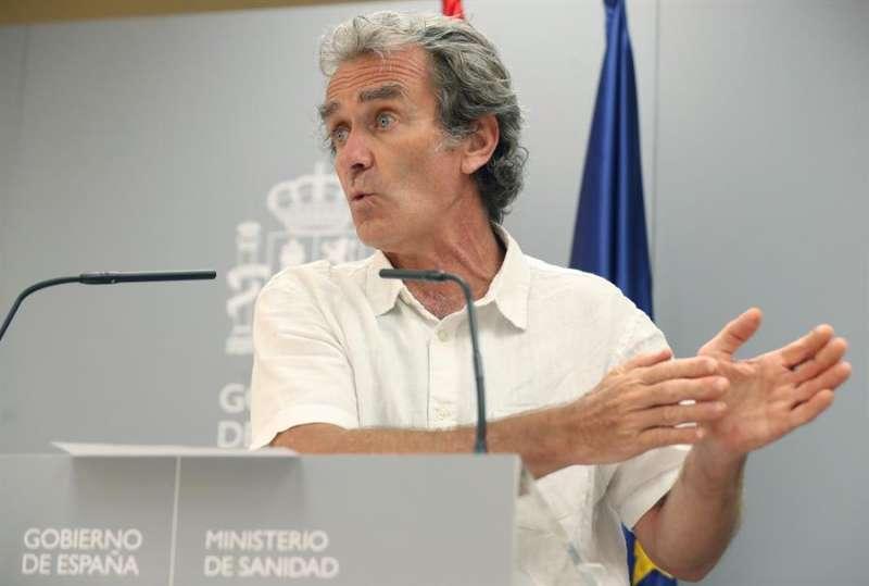 El director del Centro de Alertas y Emergencias Sanitarias, Fernando Simón. EFE