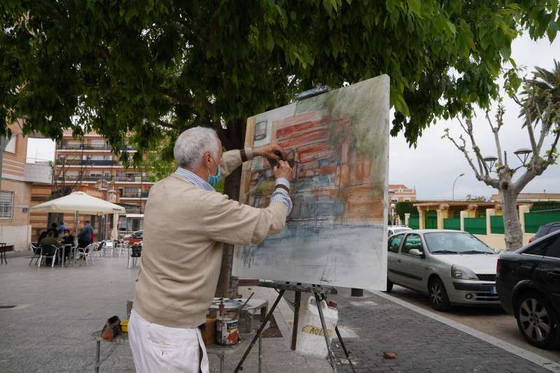 Concurso de pintura al aire libre