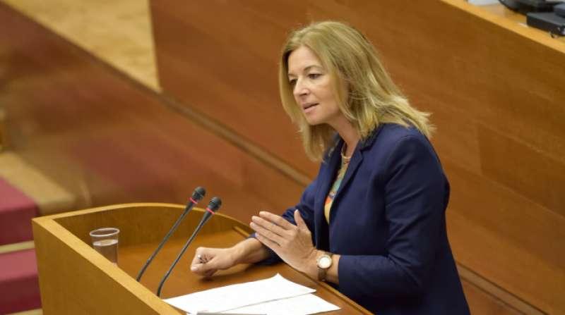 La portavoz de Política Social en Les Corts, Concha Andrés