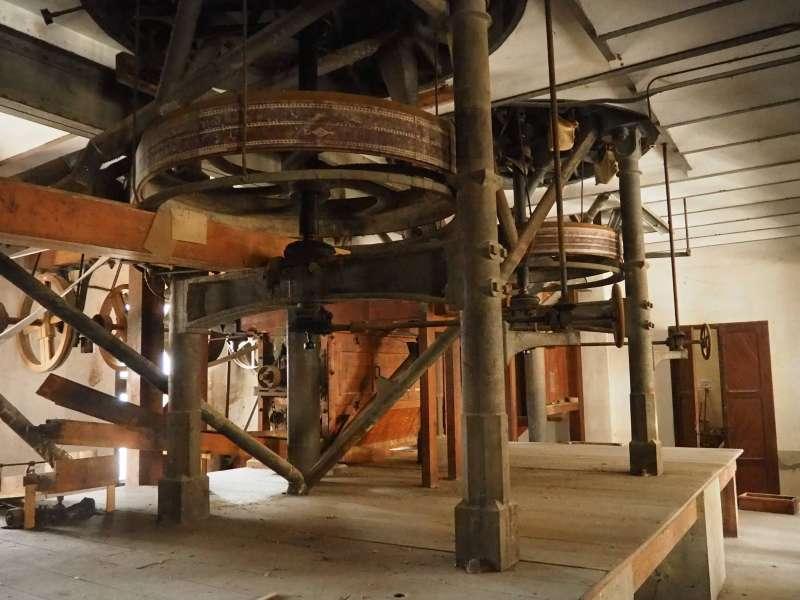 Maquinària del Molí del Passiego. EPDA