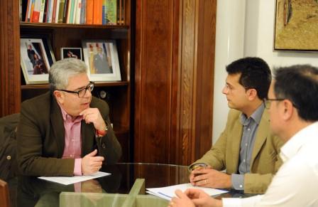 El alcalde de Alfafar y el vicepresidente de la Diputación de Valencia. Foto: Abulaila