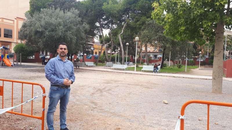 Ciudadanos Burjassot pide la instalación de una pista multideportiva en el parque de la Plaza de la Concordia -EPDA
