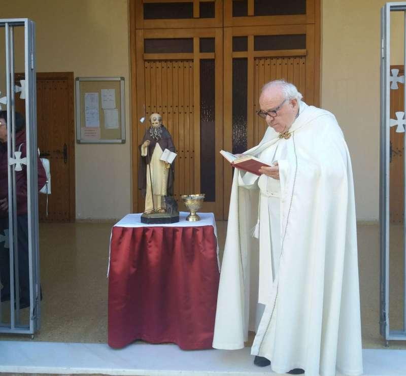 El sacerdote Jesús López Montoya. EPDA