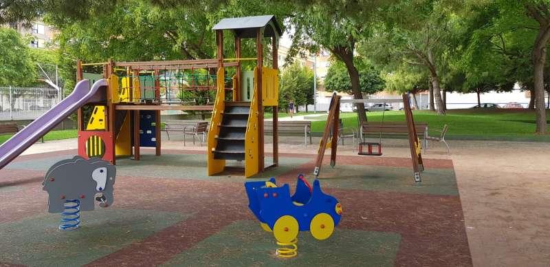 Un parque de Xirivella. EPDA