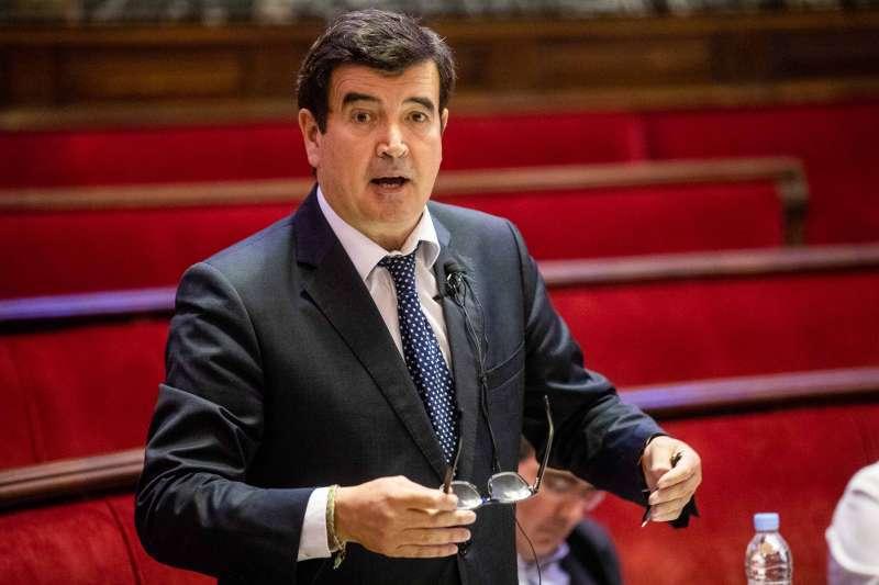 El portavoz de Ciudadanos (Cs) en el Ayuntamiento de Valencia, Fernando Giner. epda