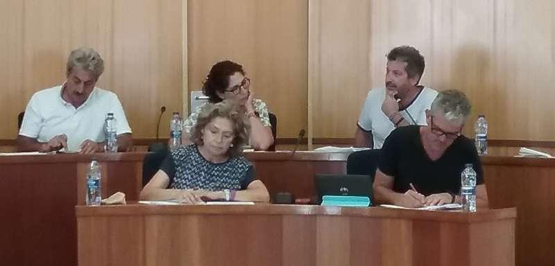 Concejales de Plataforma-GuanyemSAB-Compromís. EPDA.