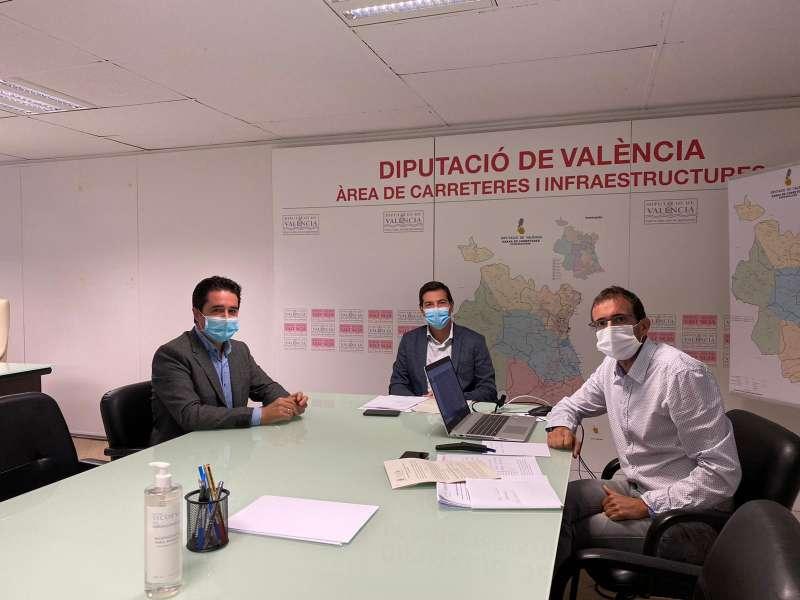 Reunión con diputado carreteras. / EPDA