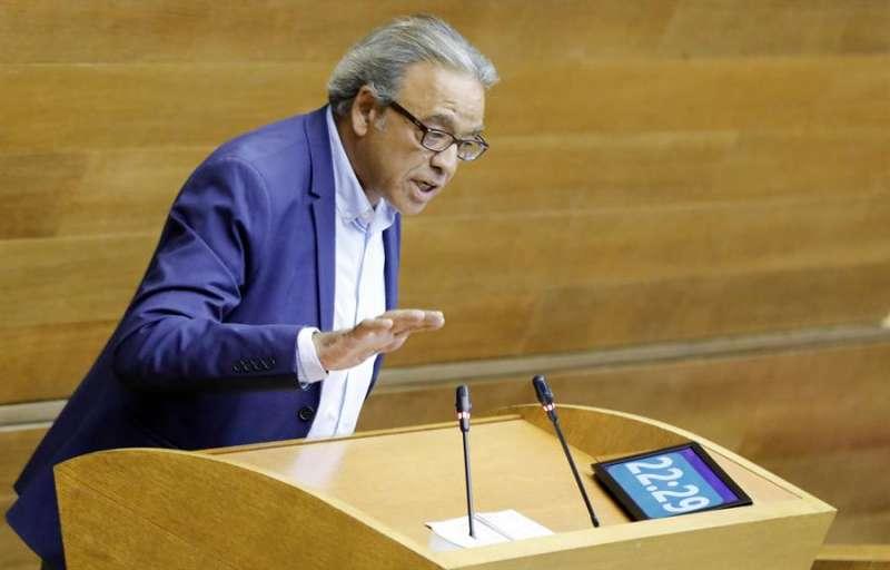 El portavoz del grupo parlamentario socialista, Manolo Mata. EFE/ Kai Forsterling/Archivo