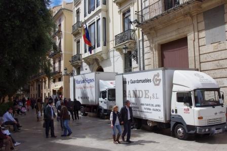 Mudanza de las dependencias de la secretaría autonómica de Sector Público. Foto EPDA