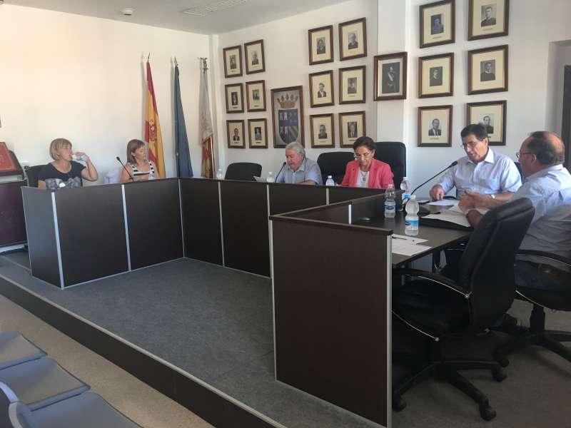 La Corporación de Torres Torres en el pleno. EPDA