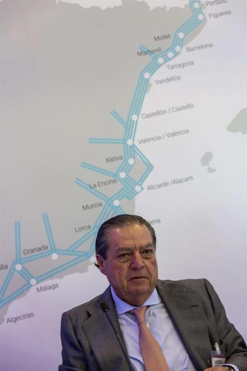 Vicente Boluda, presidente de Boluda Corporación Marítima. EFE