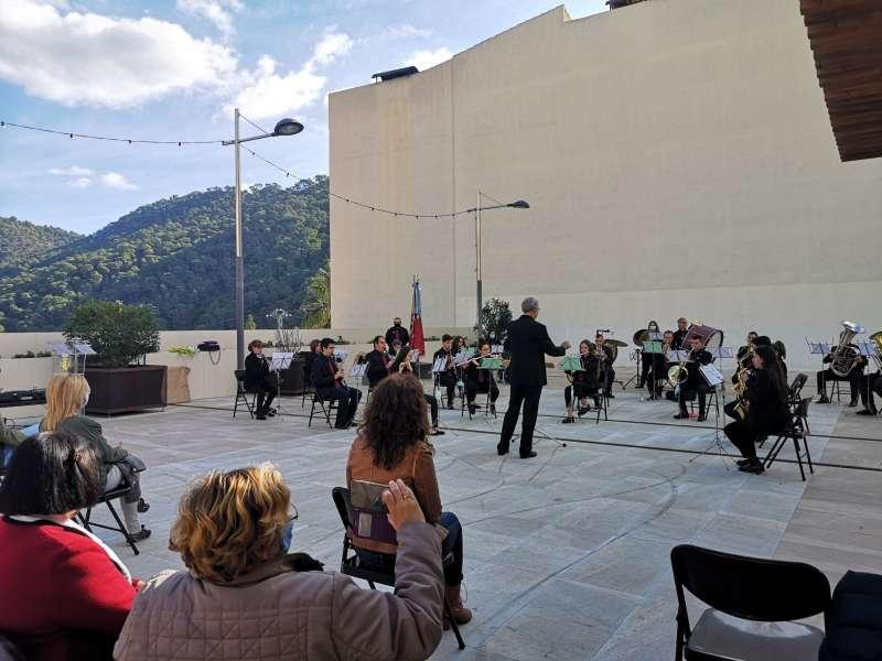 Un dels concerts celebrats a Serra l