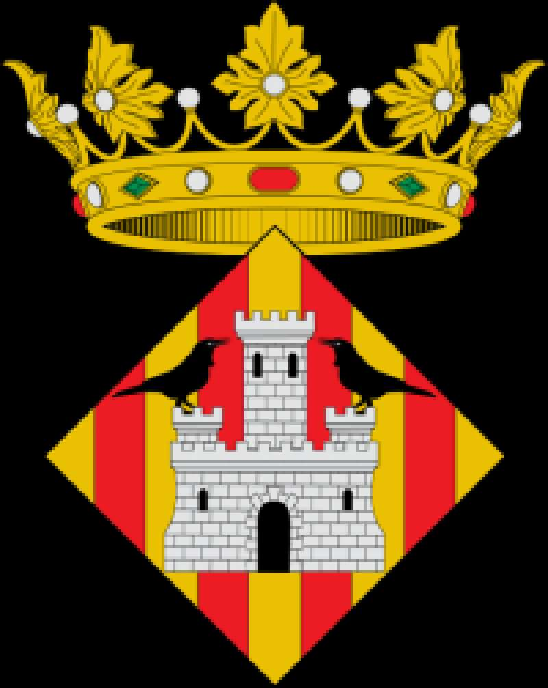 Escudo del Ayuntamiento de Corbera. -EPDA