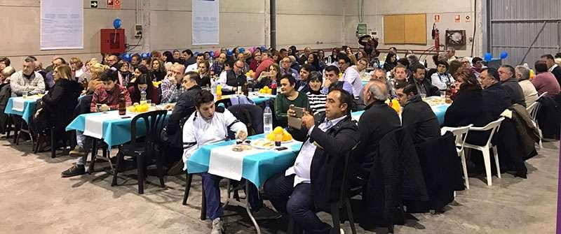 El PP reunió a más de 120 afiliados en Loriguilla.EPDA.