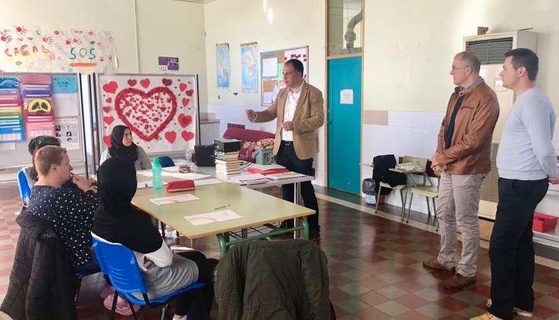 Salvador Aguilella en uno de los cursos que se imaprten ahora