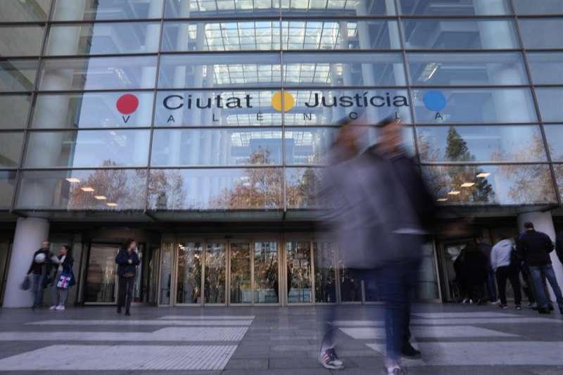Imagen de la Ciudad de la Justicia de Valencia donde se celebrará el juicio.EFE/ Ana Escobar