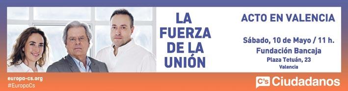 Cartel electoral de Ciutadans.