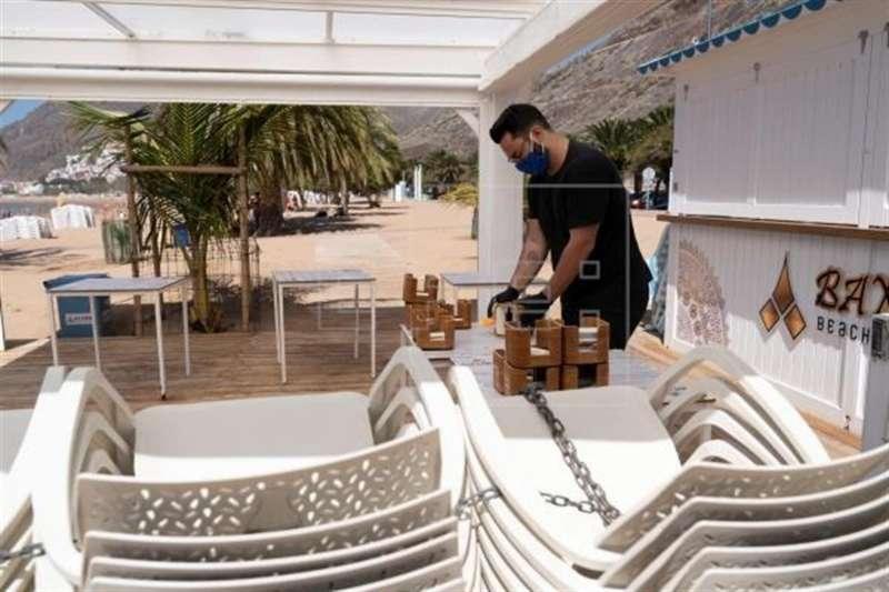 Imagen de archivo de un restaurante en Valencia