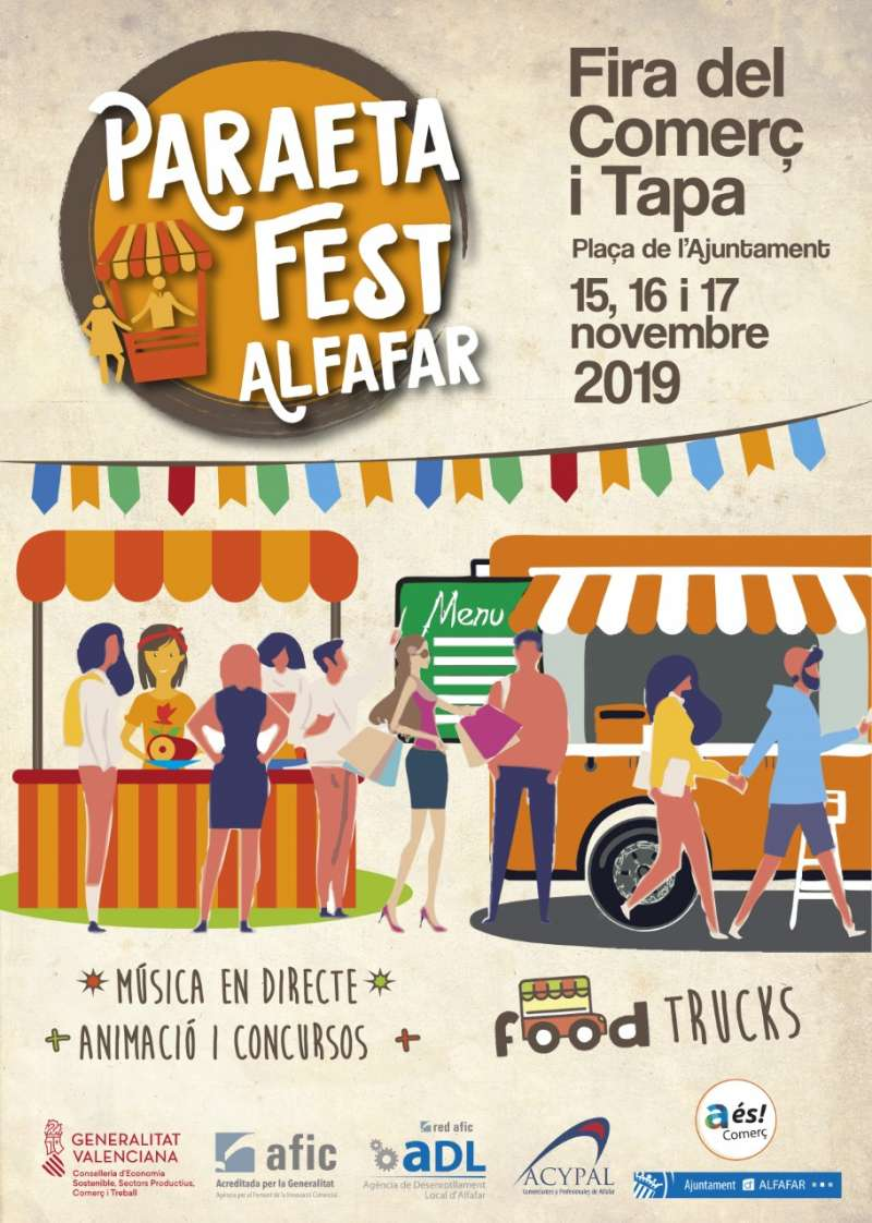 Cartel del Paraeta Fest. EPDA