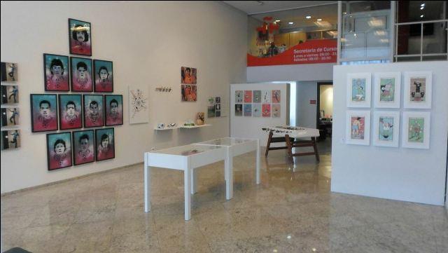 Montaje en el Instituto Cervantes de Sao Paulo. FOTO: DIVAL