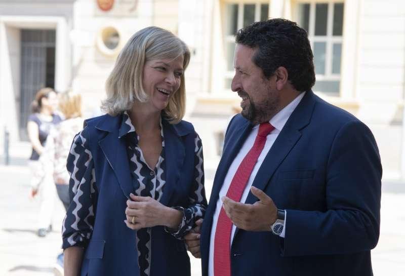 La consellera de Justicia se ha reunido hoy con el presidente de la Diputación de Castellón