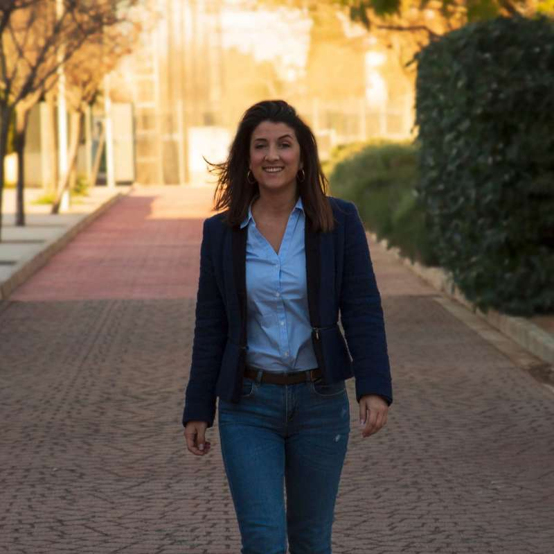 La candidata socialista Clara Quiles. EPDA