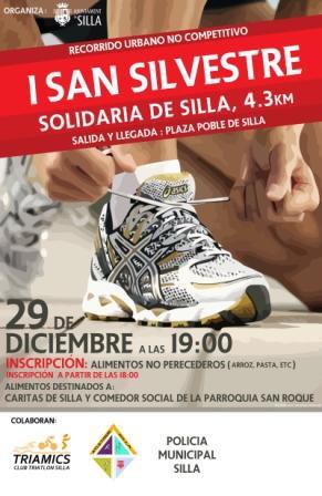 Cartel publicitario de la Campaña Solidaria.