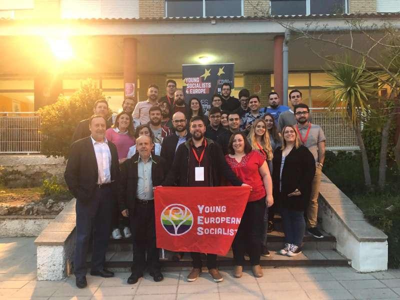 Encuentro de los Joves Socialistes. FOTO EPDA
