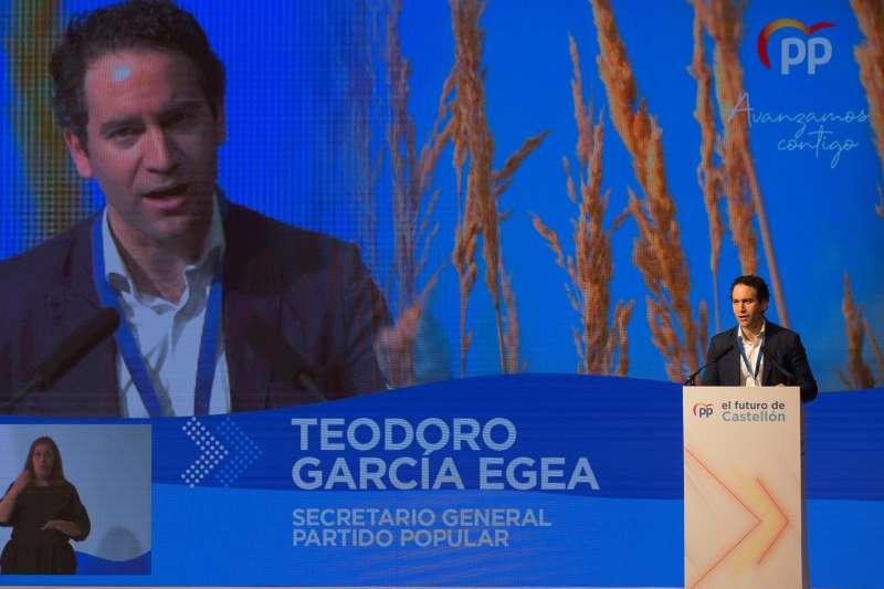 El secretario general del PP, Teodoro García Egea. EFE/Domenech Castelló