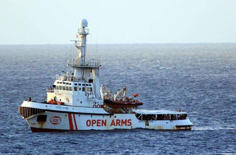 El buque humanitario