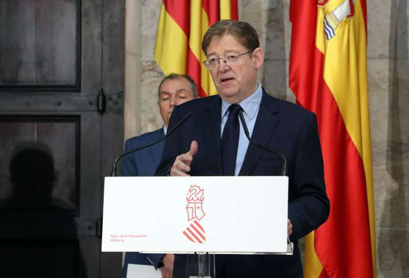 El presidente de la Generalitat, Ximo Puig. EPDA