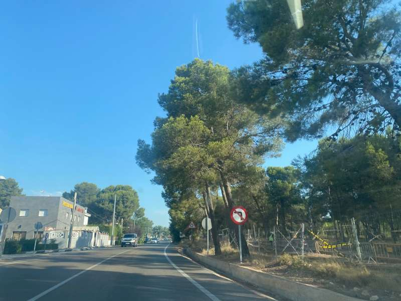 Carretera Pla del Bou. EPDA.
