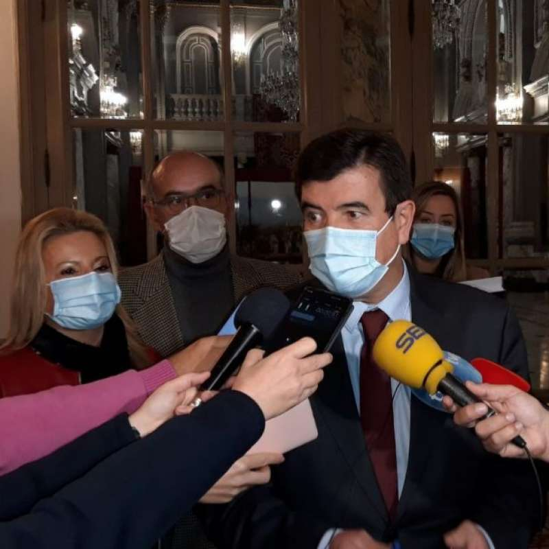 El portavoz de Ciudadanos (Cs) en el Ayuntamiento de Valencia, Fernando Giner