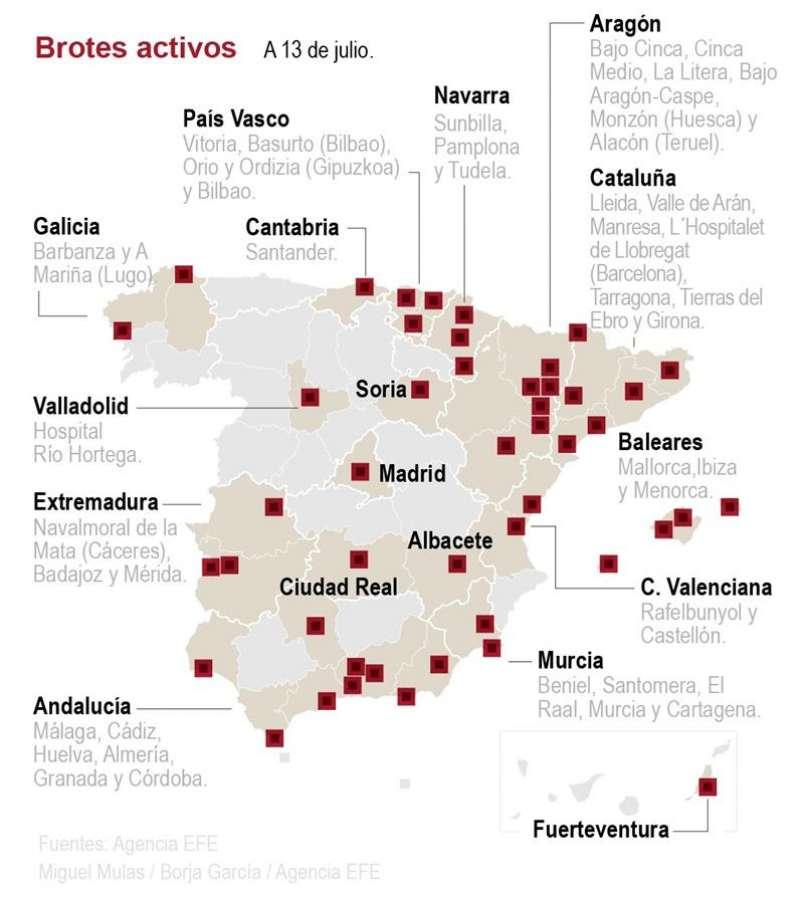 Detalle de la infografía de la Agencia EFE disponible en http://www.efeservicios.com. EFE