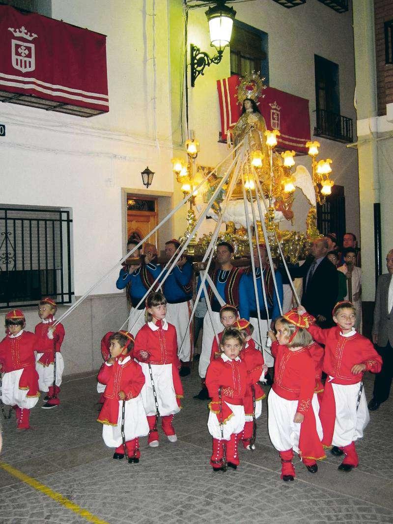 Els turquets en la procesió. EPDA