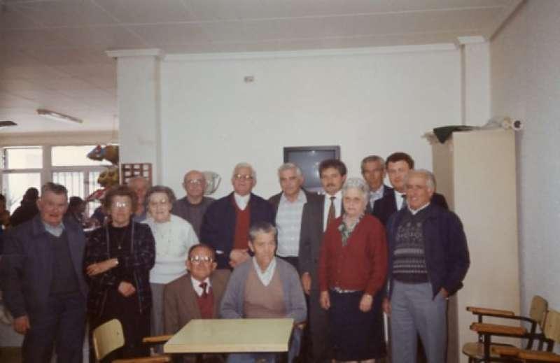 Jubilados en el año 1990. / JSM