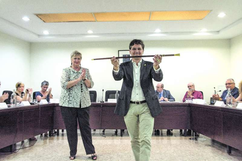 L?alcalde de Meliana, Josep Riera. / epda