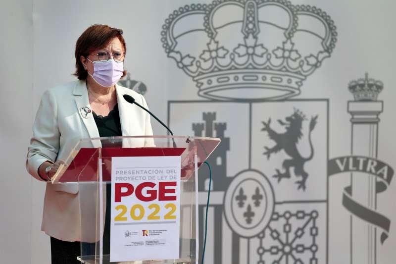 La delegada del Gobierno en la Comunitat Valenciana, Gloria Calero.