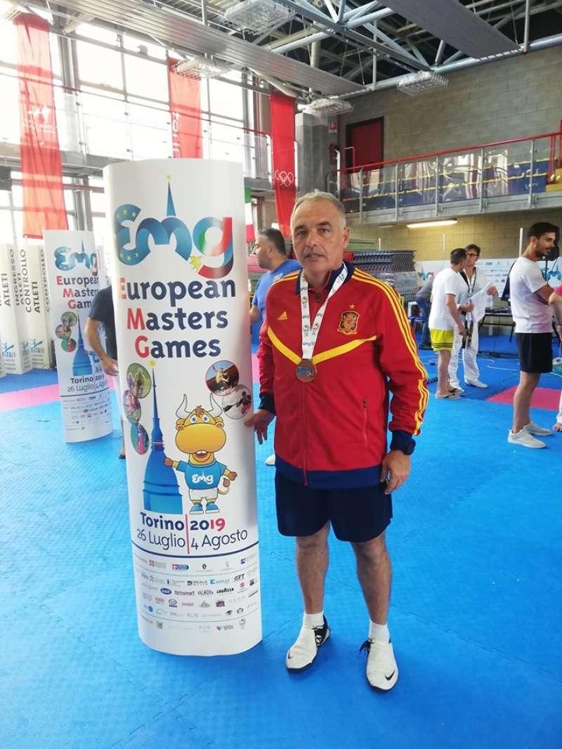 Miguel Angel Orts, entrenador Taekwondo , Paterna . EPDA