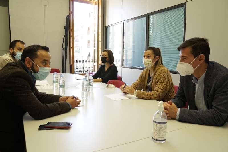 Reunión de presentación del proyecto de los Presupuestos Participativos de la Generalitat Valenciana en Burjassot.