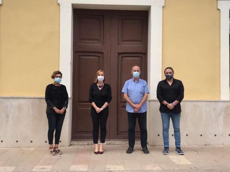 Visita de la responsble de la Diputació de València