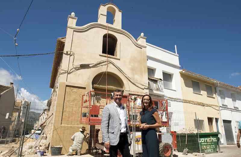La vicepresidenta de la Diputación visita Xeraco. EPDA
