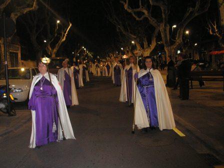 Traslado procesional del Cristo de la Fe.