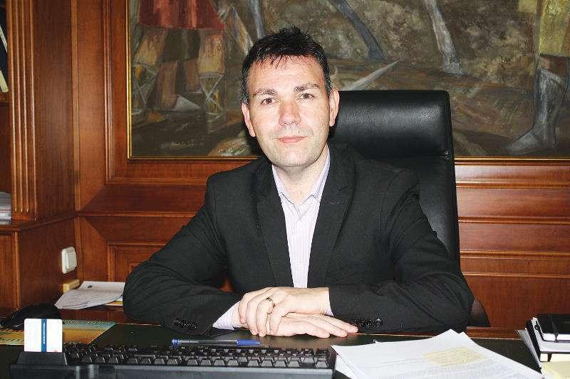 Jesús Monzó, doblemente denunciado por su Policía Local. EPDA