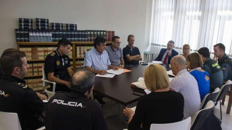 Junta Local de Seguretat a Picassent. EPDA